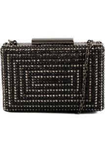 Bolsa Crossbody Clutch Glam Iron & Glass Schutz S052125105