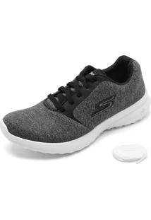 Tênis Skechers On-The-Go City 3.0- Renovated Cinza