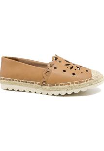Alpargata Zariff Shoes Corda Solado Tratorado Marrom