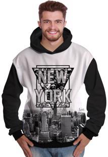 Blusa De Moletom Di Nuevo New York Rappers Hip Hop Ny Exclusiva Preto