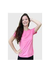 Camiseta Lisa Rosa D Bell