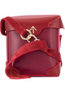 Manu Atelier Bolsa Transversal Pristine - Vermelho