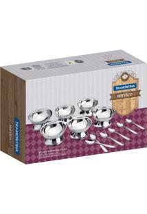 Kit Para Sobremesa 12 Peças Aço Inox Service Tramontina - Tricae