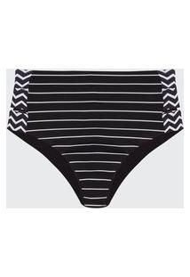 Calcinha Almaria Plus Size Bambina Hot Pants Preto