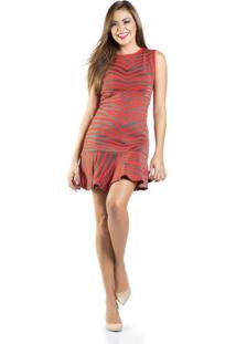 Vestido Lafort Tricot Vermelho