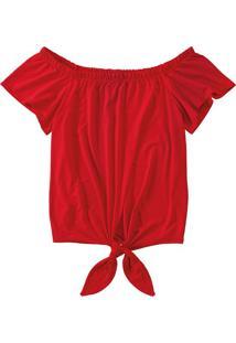 Blusa Ciganinha Amarração Malwee