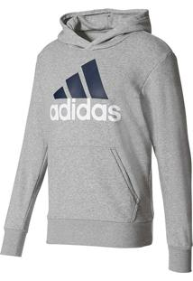 Blusa Moletom Adidas Essentials Linear Po Ft