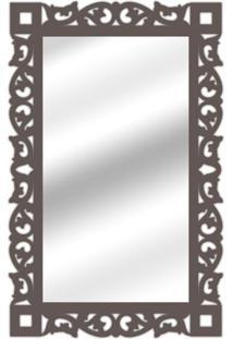 Espelho De Parede 14847I Preto 70X110 Art Shop