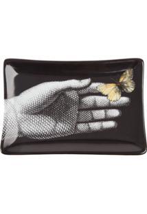 Fornasetti Cinzeiro Farfalle - Preto