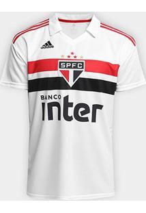 Camisa São Paulo I 2018 S/N° Torcedor Adidas Masculina - Masculino