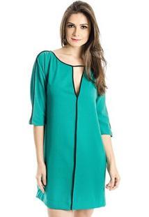 Vestido Calvin Klein - Feminino-Verde Água