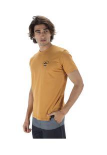 Camiseta Hd Estampada Climber - Masculina - Amarelo