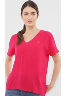 Blusa Dudalina Logo Pink - Kanui