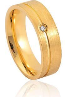 Aliança De Casamento Em Ouro 18K 5,5Mm