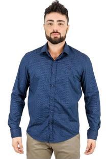 Camisa Norfolk De Poás Com Bordado - Masculino