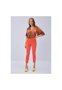 Calça Jeans Diana Skinny Ankle Ref: 501Cf004657 08371 Calça Jeans Diana Skinny Ankle Ref: 501Cf004657 08371 - 36 - Vermelho Lança Perfume