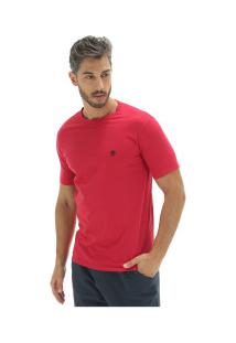 Camiseta Timberland Dunstan Rv Crew Tee - Masculina - Vermelho