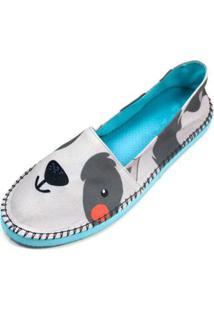 Alpargata Cupcakes Puppy Shoes Inbox - Feminino-Cinza Claro
