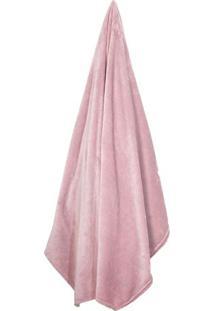 Cobertor Velour De Casal- Rosa- 180X220Cm- 300 Fcamesa