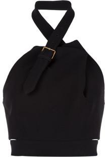 Proenza Schouler Blusa Frente Única - Preto
