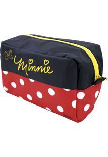 Necessaire Minas De Presentes Minnie Preto