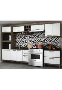 Cozinha Completa 6 Peças 9 Portas Vitória Siena Móveis