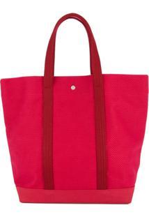 Cabas Bolsa Tote Grande - Vermelho