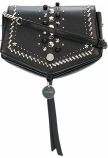 Jimmy Choo Bolsa Tiracolo Arrow - Preto