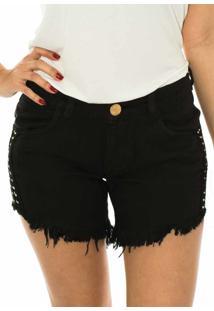 Shorts Capim Canela Confort Gel Preto