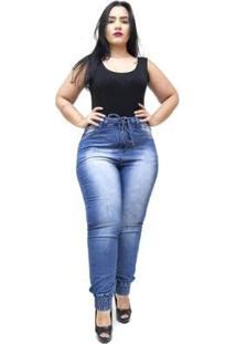 Calça Jeans Meitrix Plus Size Skinny Noraia Feminina - Feminino