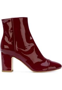 Polly Plume Ally Ankle Boots - Vermelho