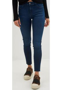 d5dcfb59c ... Calça Le Lis Blanc - Paula Skinny Blue Jeans Azul Feminina (Jeans  Escuro, 46