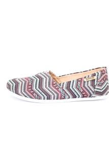 Alpargata Quality Shoes 001 Étnica Multicolorida