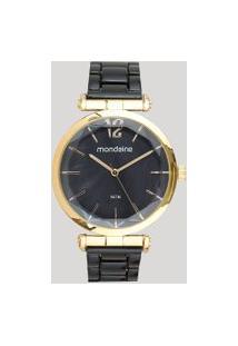 Relógio Analógico Mondaine Feminino - 53744Lpmvdf2 Dourado