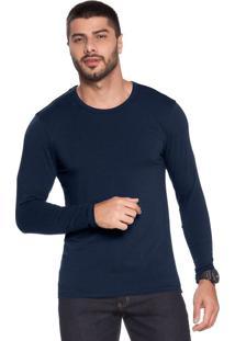 Camiseta Pietro Mg Longa - M611 Marinho/P