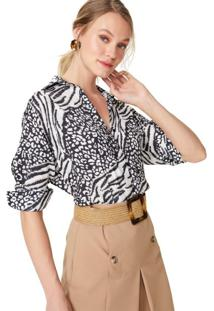 Camisa Manga Longa Oversized