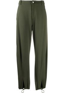 Ymc Drawstring Tapered Trousers - Verde
