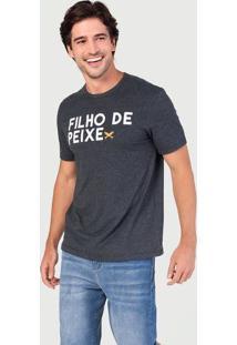 Camiseta Masculina Com Estampa Frontal - Especial Dia Dos Pais