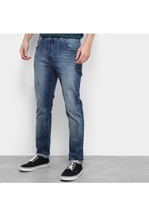 Calça Jeans Skinny Ellus Masculina - Masculino-Azul