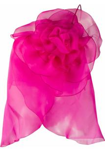 Blumarine Blusa Ombro A Ombro Com Estampa Floral - Rosa
