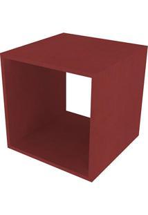 Nicho Quadrado Cubo Ii Vermelho