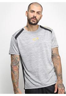 Camiseta Oakley Dynamic Breathe Masculina - Masculino-Cinza Claro