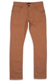 Calça Oakley De Passeio 5 Pockets 2.0 Masculino - Masculino-Marrom