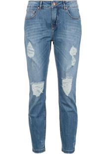 Amapô Calça Jeans 'New Boyfriend Zurique' - Azul