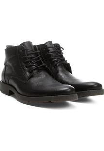 Bota Couro Cano Curto Shoestock Masculina