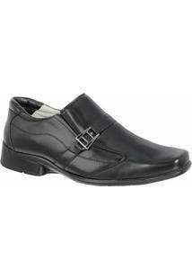 Sapato Social Confort Ranster Premium - Masculino-Preto