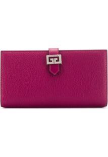 Givenchy Carteira Gv3 Continental - Rosa