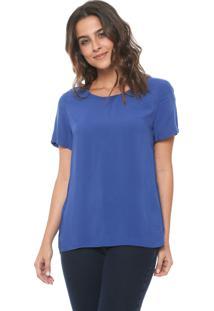 Blusa Hering Mullet Azul