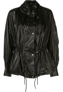 Isabel Marant Creased Drawstring Jacket - Preto