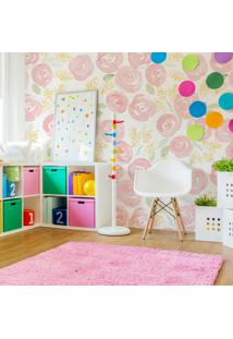 Papel De Parede Stickdecor Adesivo Floral Watercolor Nursery